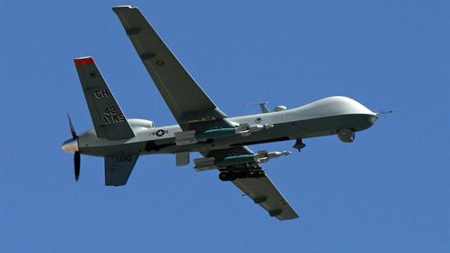 Avión no tripulado del Ejército estadounidense. (EUROPA PRESS)