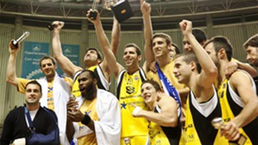 El CB Canarias se proclama campeón de la Adecco Oro. (www.cbcanarias.net)