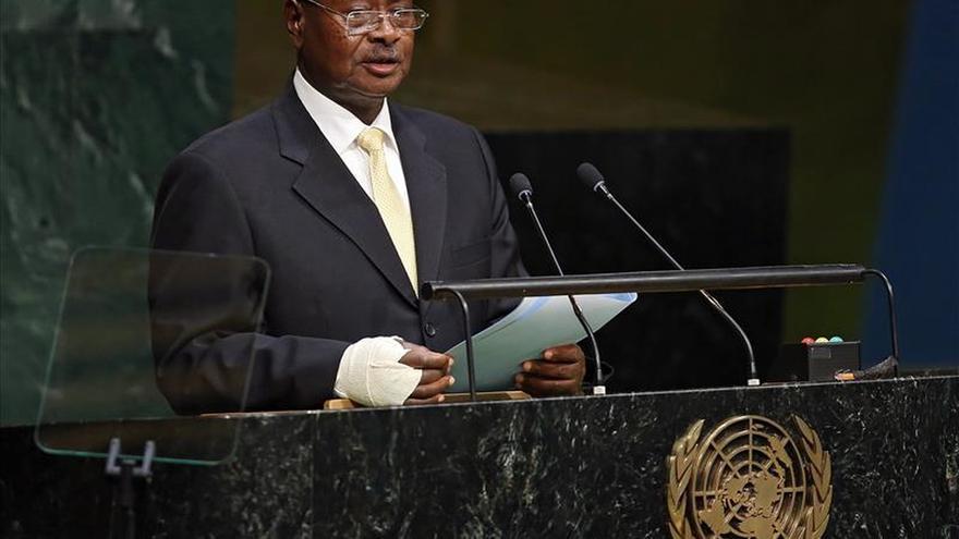 El presidente de Uganda aspira a la reelección tras 30 años en el poder