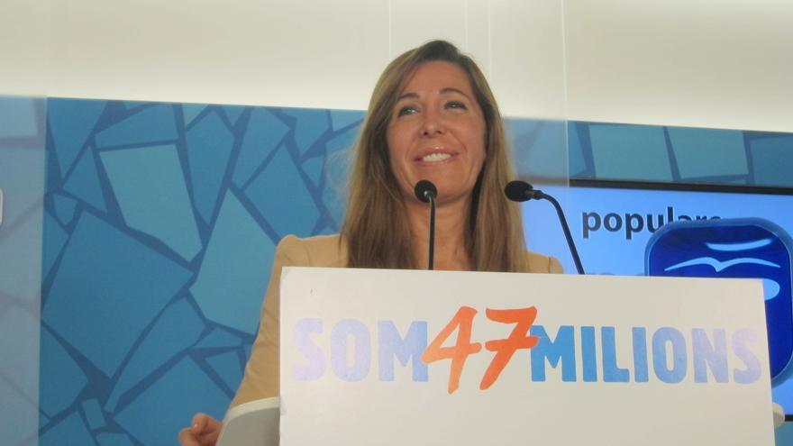 Sánchez-Camacho augura que Artur Mas incumplirá su pacto con ERC para la consulta tras el 'sí' a los presupuestos