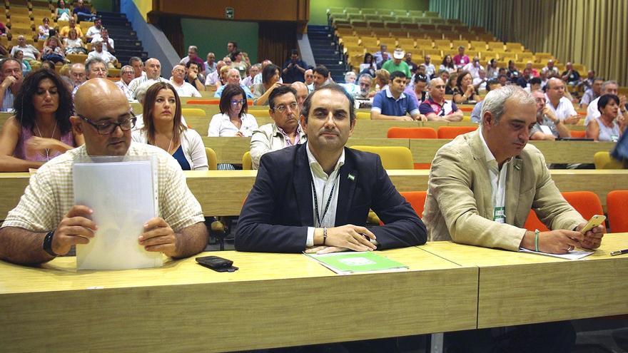Miembros de la dirección del PA en el último congreso del partido.