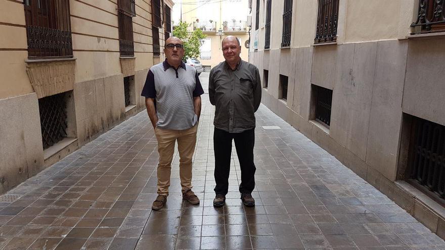 Los profesores Nel·lo Pellisser y Josep Gavaldà