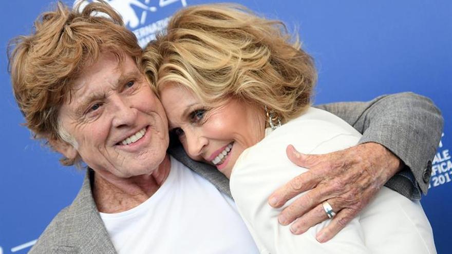 Jane Fonda, Robert Redford y Del Toro, imágenes de la 74 Mostra de Venecia