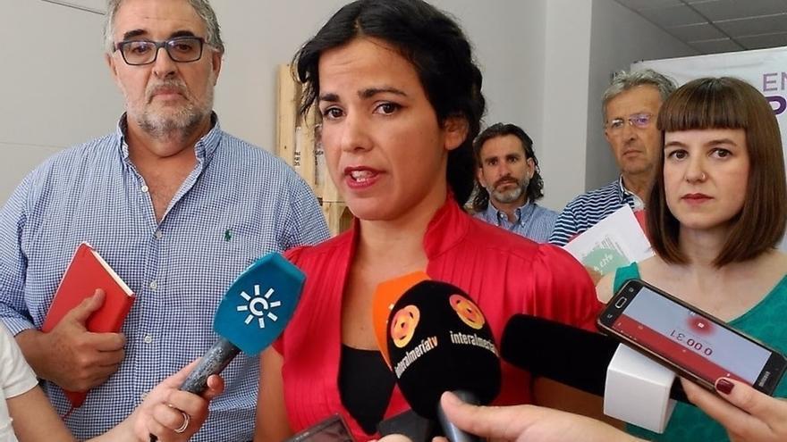 """Teresa Rodríguez ve """"una buena solución"""" para renovar la RTVA el sistema aprobado para la elección del Consejo de RTVE"""