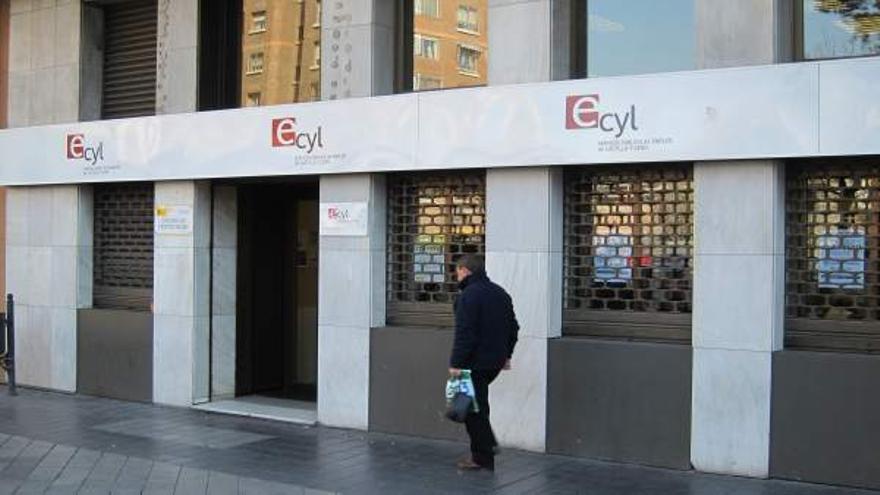 Una oficina del Servicio de Empleo de Castilla y León en una imagen de archivo.