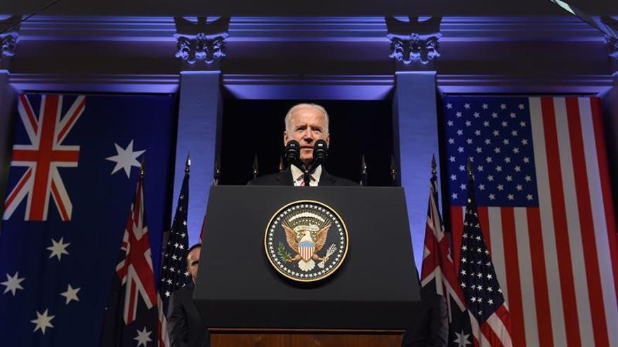 """Biden: El compromiso de EE.UU. con la fuerza militar """"no tiene precedentes"""""""