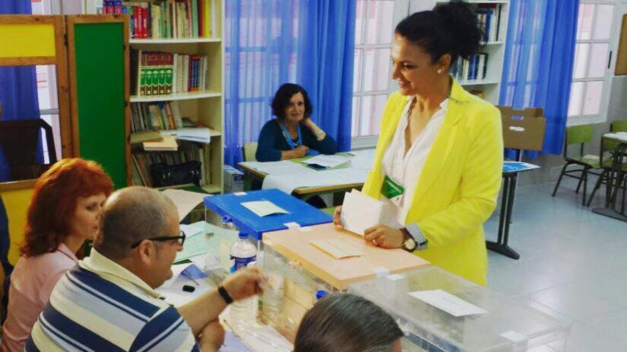 Susa Armas es candidata de CC a la Alcaldía de Los Llanos.