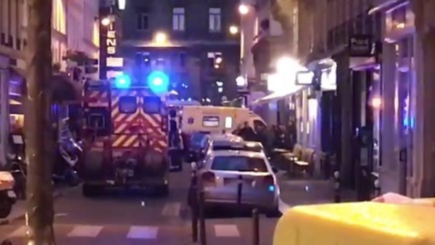 Imágenes de París después del ataque