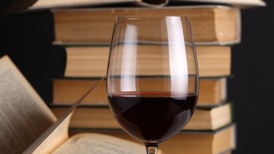 Vino y literatura. Foto: El Club del Gourmet.