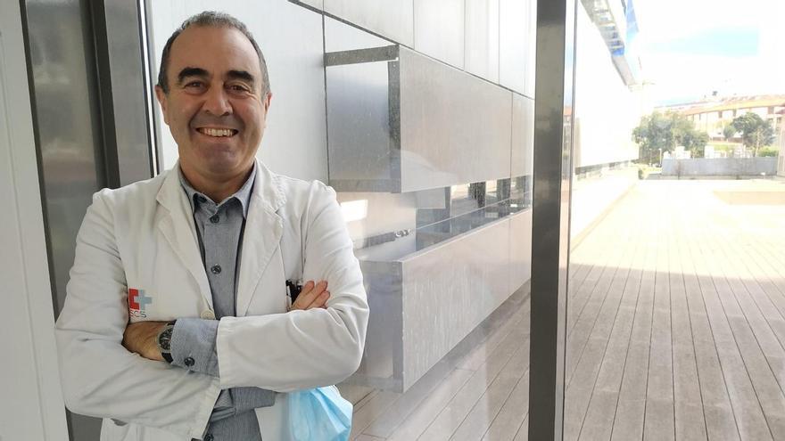 Marcos López Hoyos, jefe del Servicio de Inmunología del Hospital Valdecilla.