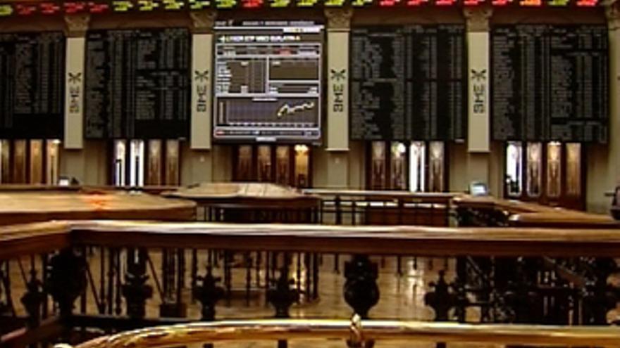 El Ibex se mantiene plano a media sesión (-0,02%)