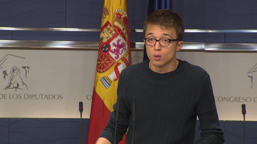 """Podemos no le concederá al Gobierno de Rajoy los cien días de cortesía porque es """"más de lo mismo"""""""