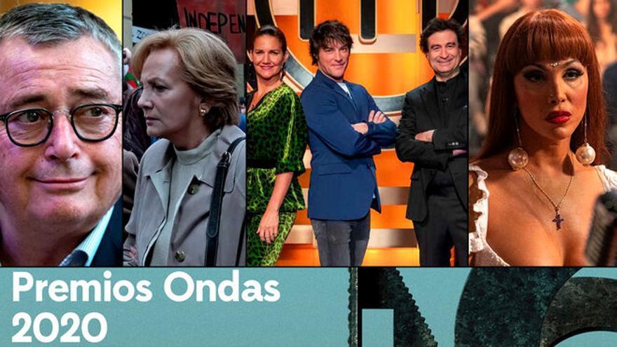 Los ganadores de los Ondas 2020 de TV