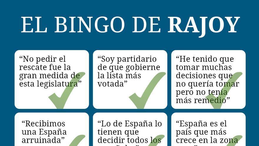 El Bingo de Mariano Rajoy