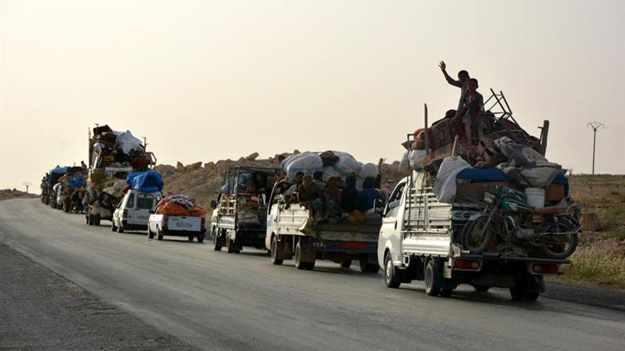 Yihadistas del EI lanzan un ataque en Al Raqa contra las Fuerzas de Siria Democrática