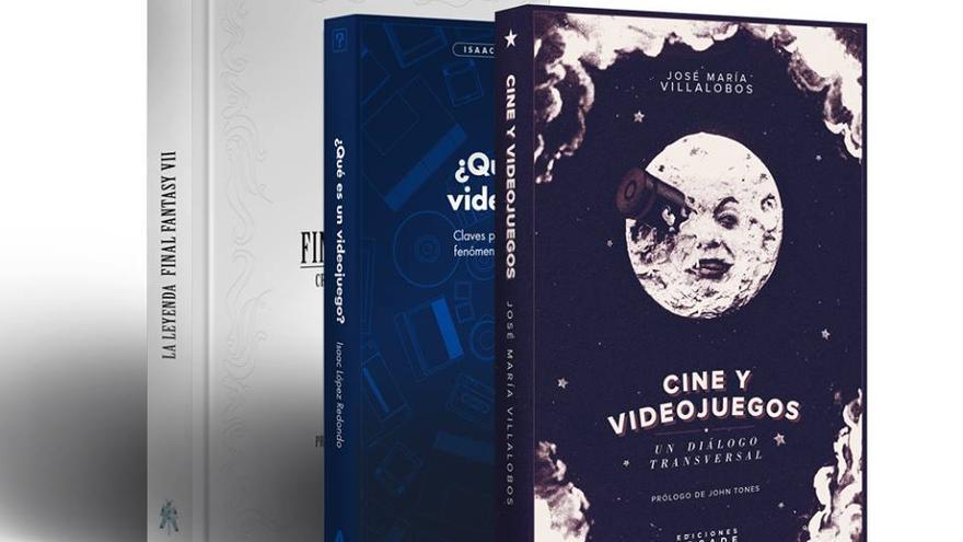 Imagen con los primeros tres libros publicados por la editorial Héroes de Papel