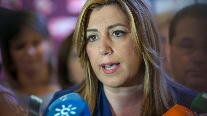 Susana Díaz critica que quienes han querido separar España pidan moderación
