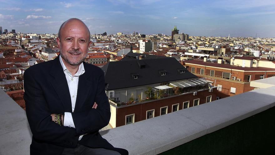 El periodista Felipe Serrano. / Marta Jara