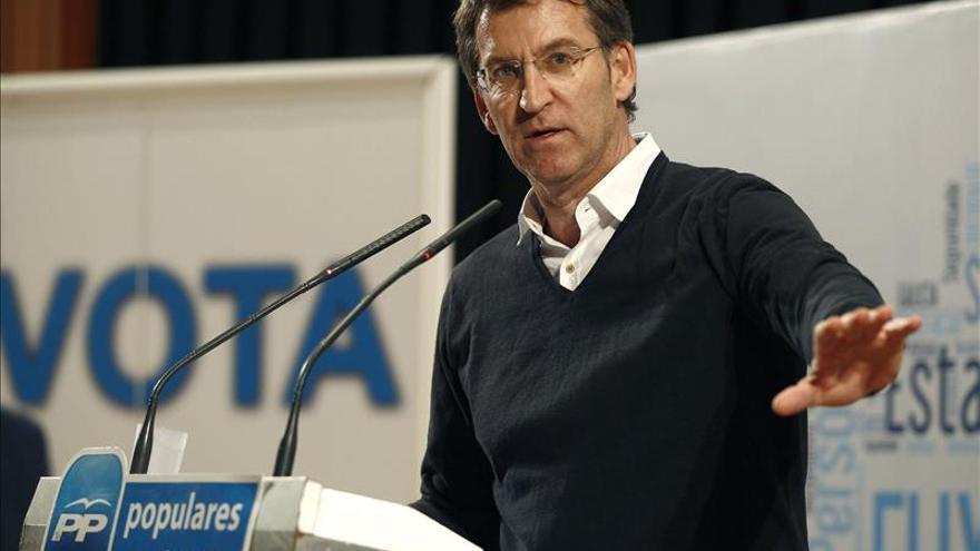 """Feijóo dice que España pide autocrítica y el PP """"no es solamente Génova 13"""""""