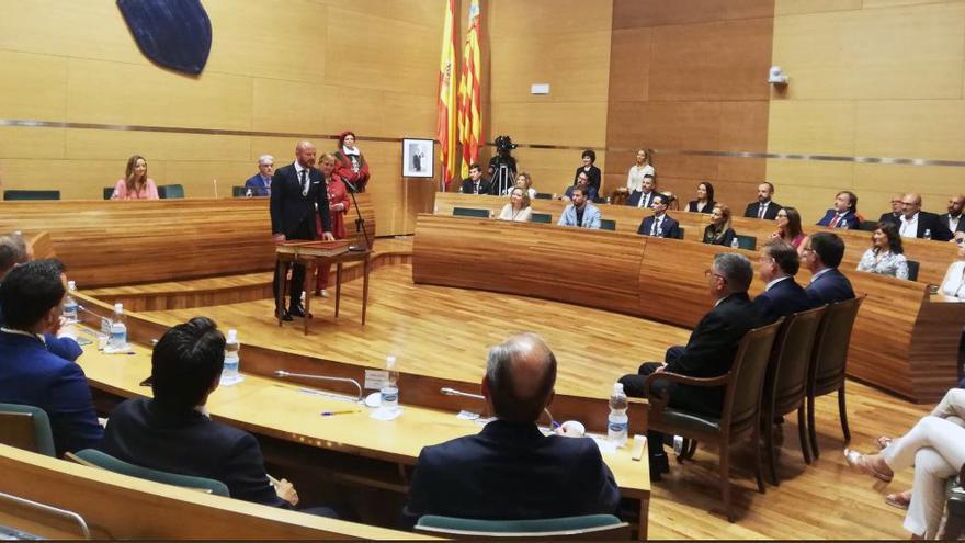 Toni Gaspar toma posesión como nuevo presidente de la Diputación de Valencia