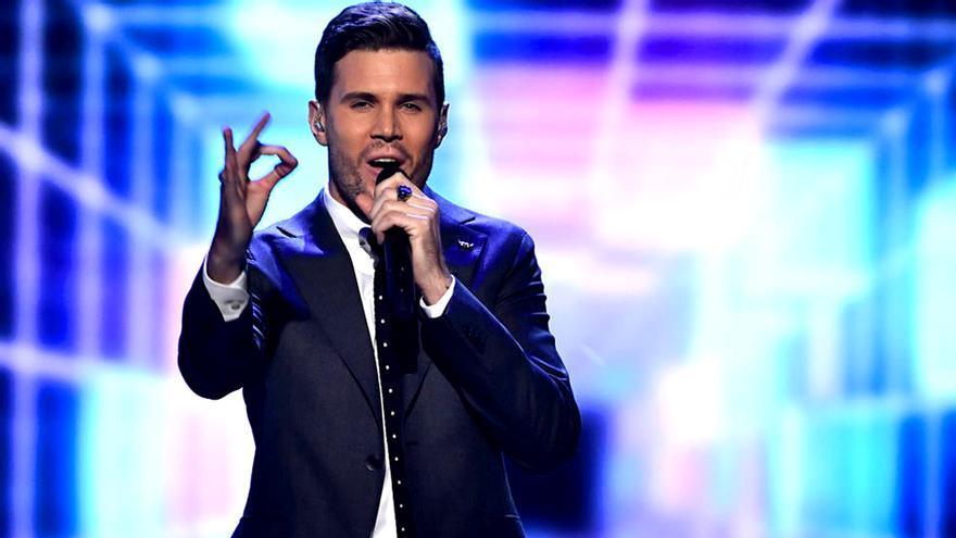 El representante sueco de Eurovisión se siente un poco español