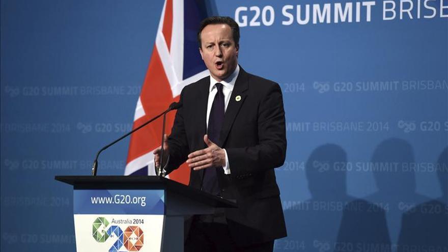 """Cameron condena el """"asesinato a sangre fría"""" de Kassig por el Estado Islámico"""