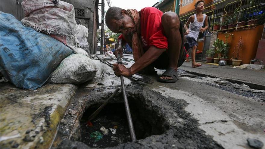 Asciende a 14 el número de muertos por el paso del tifón Melor por Filipinas