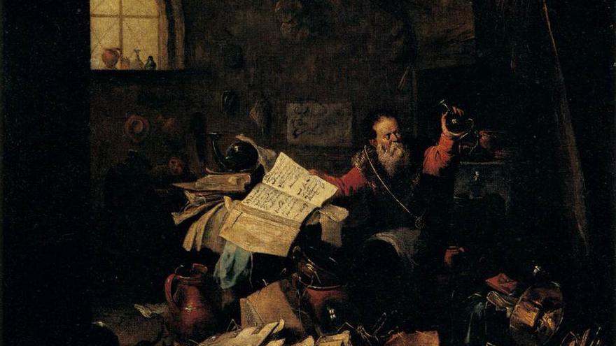 'El Alquimista', de David Teniers el Joven | WahooArt.com
