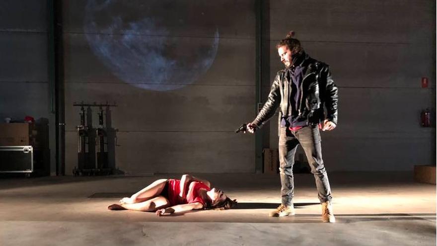 "FOTO: Compañía de Teatro Narea Obra: ""Don Juan. La sombra de Inés ensangrentada"""