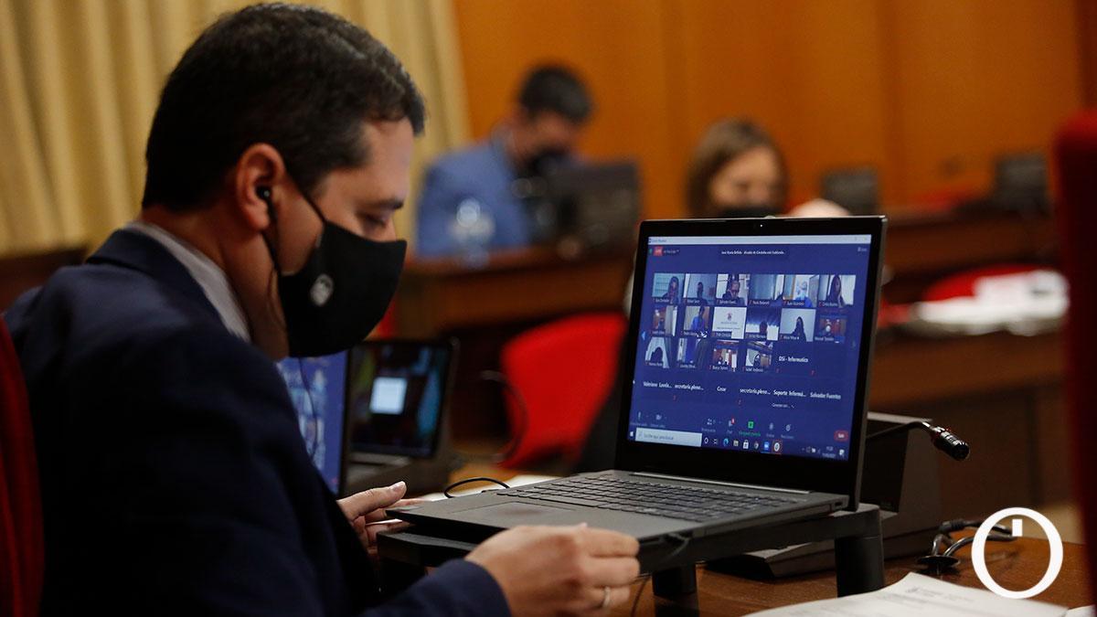 Pleno del Ayuntamiento de Córdoba del pasado mes de marzo