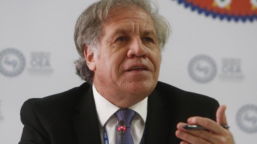 Almagro exhorta a los países de la OEA a unirse y evitar la polarización interna