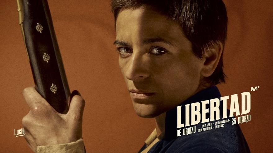 Cartel de 'Libertad' con Bebe como protagonista