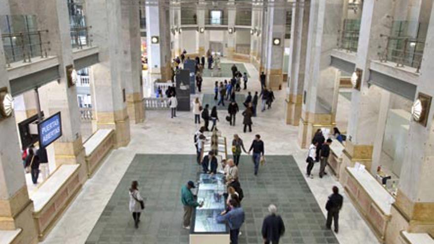 Interior de las instalaciones de Centro-centro. / www.centrocentro.org/