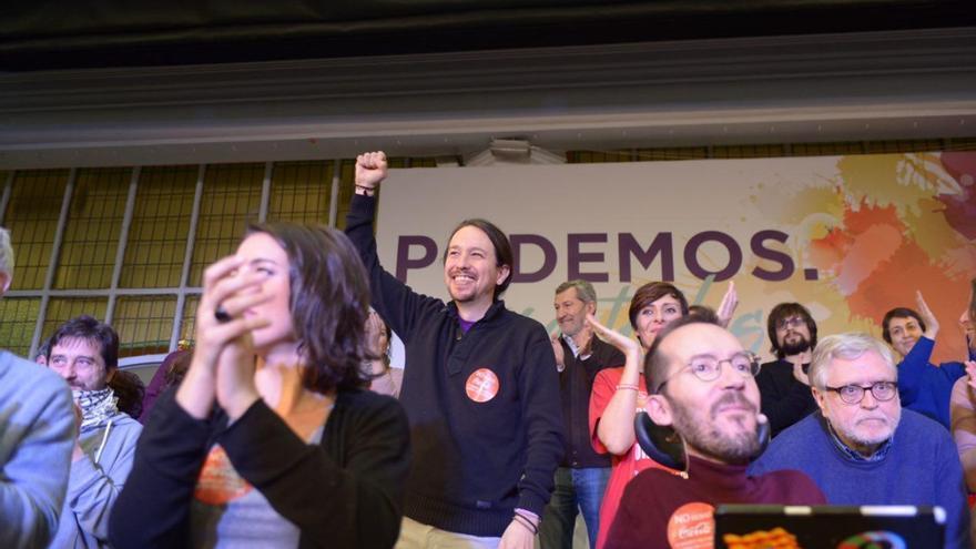 Pablo Iglesias, en la presentación esta mañana en Madrid de su candidatura. Foto: Podemos para Todas