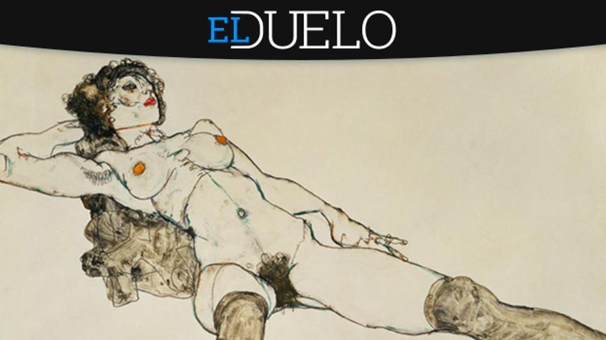 A favor y en contra de Egon Schiele como un baluarte de la sexualidad femenina