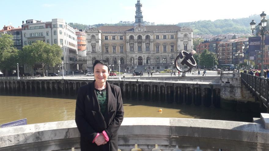 Jone Goirizelaia, candidata de EH Bildu a la Alcaldía de Bilbao.