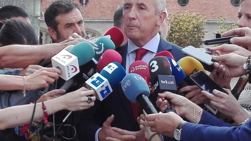 """Gobierno vasco afirma que """"dejar de colaborar"""" con el Ejecutivo de Rajoy por Cataluña """"sería incomprensible"""""""