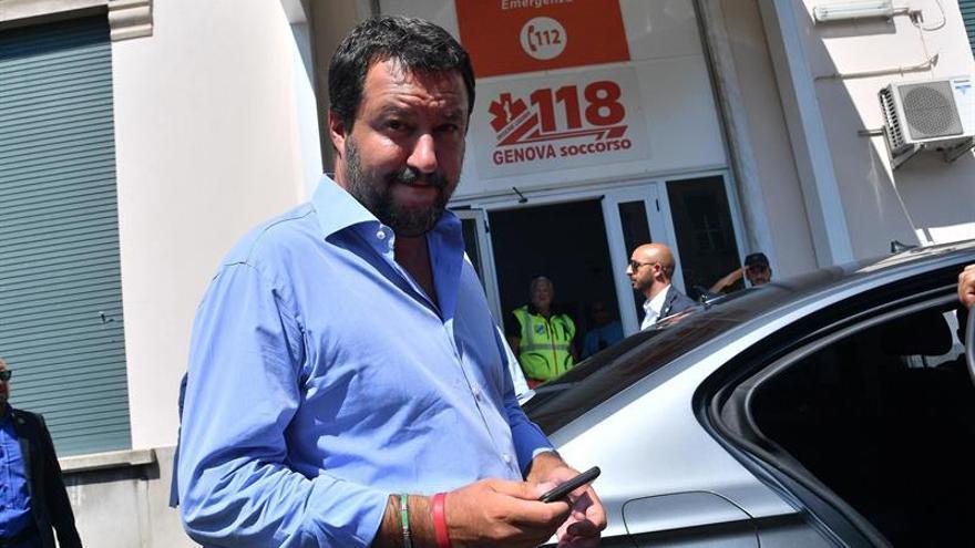 Salvini dice que su objetivo es imitar la política migratoria de Australia