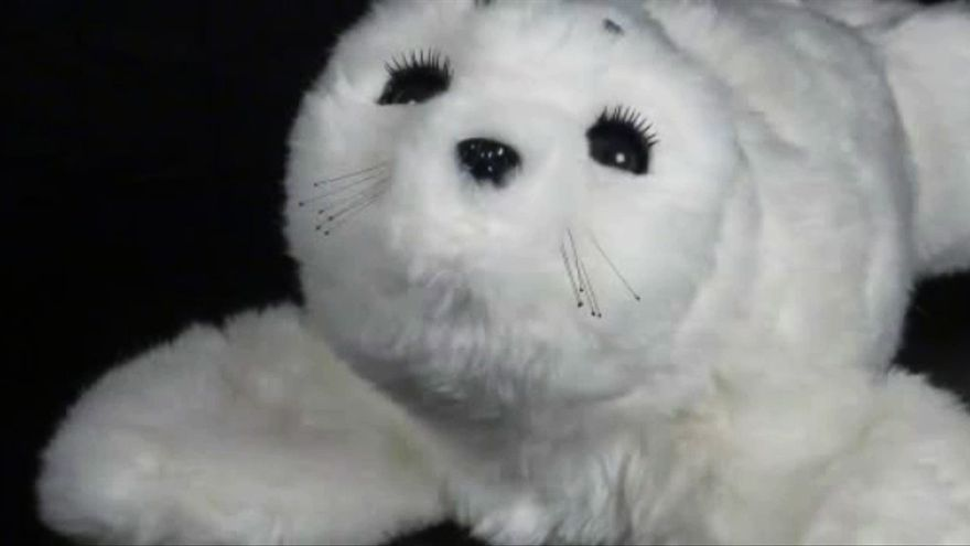 La foca robótica Paro tiene efectos terapeúticos