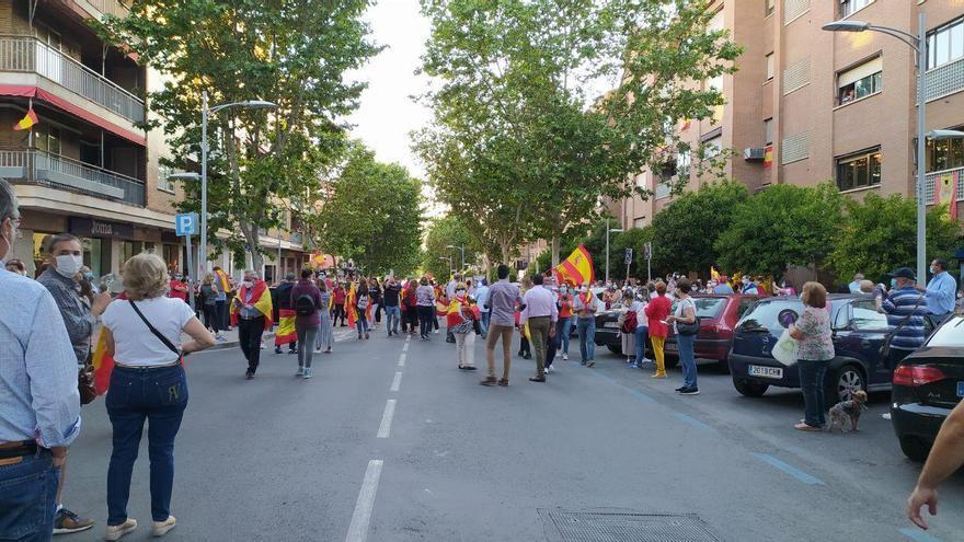 Manifestación y cacerolada en Toledo