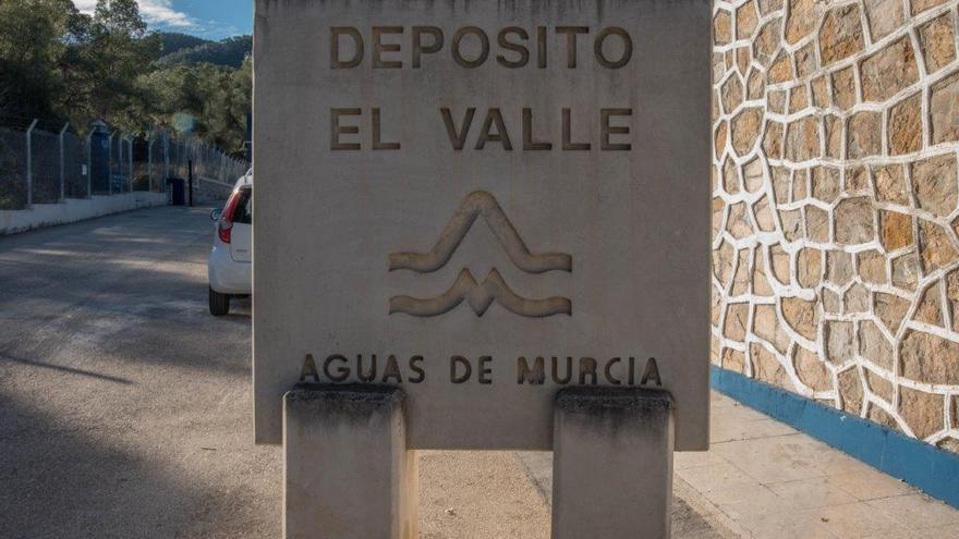 Depósito de El Valle en Aguas de Murcia