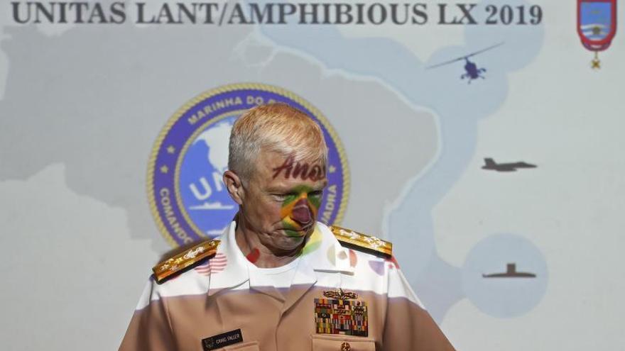 El jefe del Comando Sur de EE.UU. dice que la crisis venezolana amenaza la paz regional