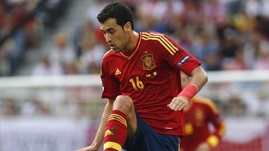 Sergio Busquets Selección Española