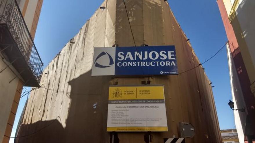 IU-Verdes Lorca denuncia el retraso de las obras del palacio de justicia