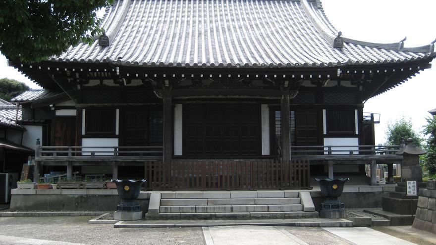 Pabellón del Templo de Kaneiji, uno de los más de 300 edificios religiosos de Yanaka. Paul Trafford