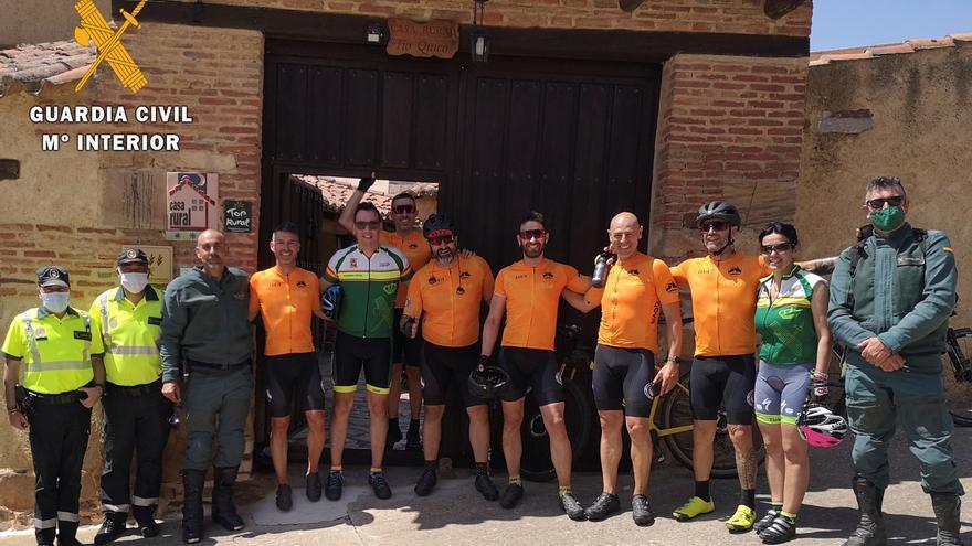 Dani Rovira recorre la Vía de la Plata en Zamora por las enfermedades raras