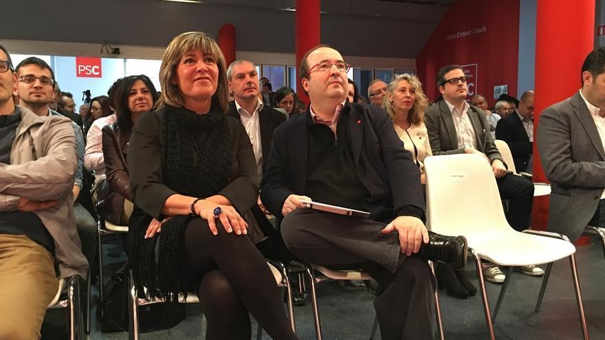 Nuria Marín (Mesa Comité Federal) pide que el PSC se manifieste de manera independiente al PSOE si discrepan