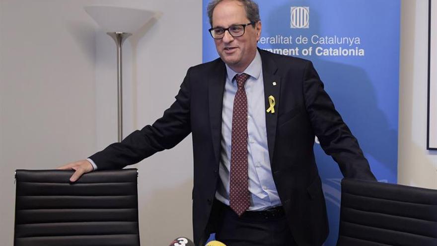 Torra pide la dimisión de Pedro Morenés por su discurso en Washington