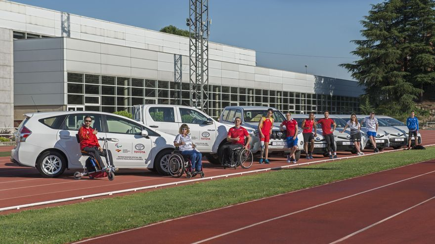 Toyota España, patrocinador oficial del Comité Paralímpico Español.