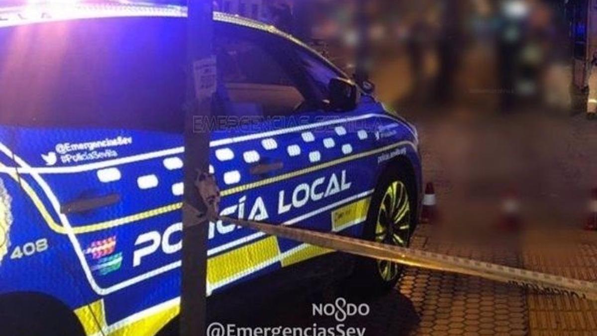 Patrullero de la Policía Local de Sevilla.